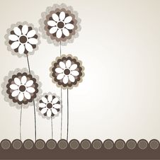 Free Flower Background Design. Royalty Free Stock Images - 13689929