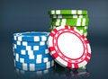 Free Gambling Chip Royalty Free Stock Photos - 13695008
