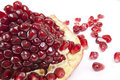 Free Pomegranate With Slice Stock Images - 13697424