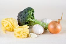 Free Pasta Ingredients Stock Photography - 13690012
