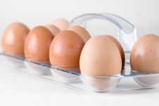 Free Brown Chicken Eggs Stock Images - 13690024