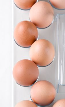 Free Brown Chicken Eggs Stock Photo - 13690030