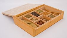Free Spice Box. Spice Of Life  Royalty Free Stock Image - 13690146