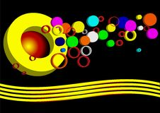 Vector Background Circle Royalty Free Stock Image