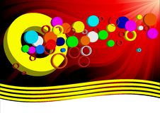 Free Vector Background Circle Stock Photography - 13690242