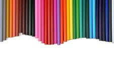 Free Colored Pencils Royalty Free Stock Image - 13690286