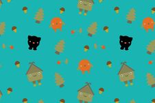 Free Fairytale Pattern. Vector Stock Photography - 13690742