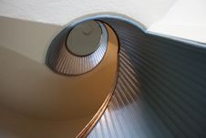 Spiral Stairs Up Royalty Free Stock Photos