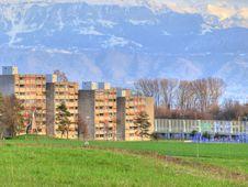 Free Bourdonnette Suburb, Lausanne Stock Image - 13691261