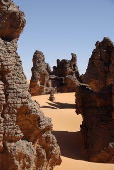 Free Libyan Desert Royalty Free Stock Image - 13691336
