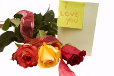 Free I Love You Stock Photography - 13691382