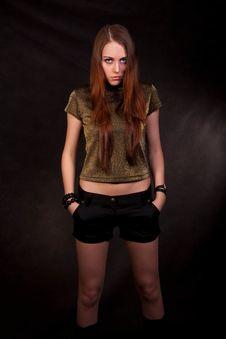 Free The Gloomy Girl Stock Photos - 13691383