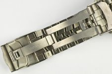 Free Titanium Watch Braselet Royalty Free Stock Photography - 13691497