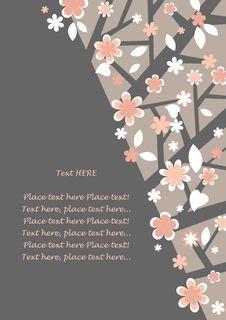 Free Postcard - Flowering Tree Stock Photo - 13691540