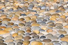 Free Pebbles Stones Pavement Royalty Free Stock Photos - 13691578