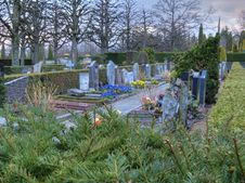 Free Divine Colorful Graveyard (2) Stock Images - 13691674