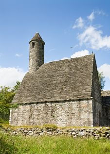 Free Saint Kevin Church At Glendalough Stock Image - 13691861