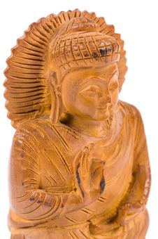 Free Netsuke Of Buddha Royalty Free Stock Photography - 13691967