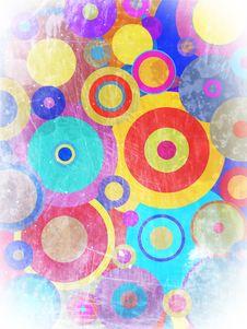 Free Grunge Circles Royalty Free Stock Photos - 13692018