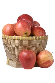 Free Apples In Basket Royalty Free Stock Images - 13692519