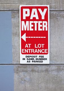 Free Parking Sign Royalty Free Stock Photography - 13692777