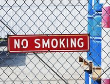 Free No Smoking Sign Stock Image - 13692781
