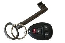 Free Keyless Entry Key With A Large Key Royalty Free Stock Photo - 13693035