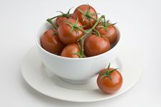 Free Bowl Of Tomatoes Stock Photography - 13693262