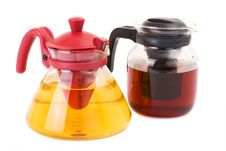 Free Glass Teapot Isolated On A White Background Stock Photo - 13693420