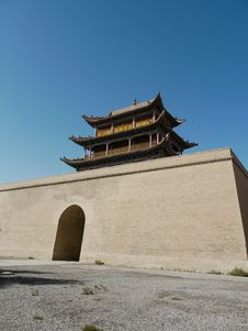 Free China Gate Building Royalty Free Stock Image - 13693666