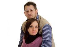 Coupple In Love Stock Image