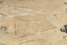 Free Masada, Roman Encampment Royalty Free Stock Images - 13694229