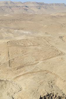Free Masada, Roman Encampment Royalty Free Stock Photography - 13694237