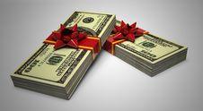 Free Money Gift Stock Photos - 13694553