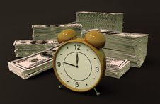 Time - Money Royalty Free Stock Photos