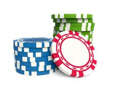 Free Gambling Chip Royalty Free Stock Photo - 13694965