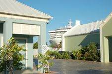Free Ship In Port Of Grand Turk Stock Images - 13695594