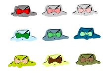 Free Bow Ties Royalty Free Stock Image - 13696036