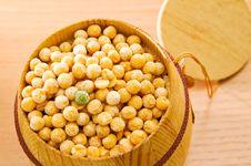 Free Yellow Peas. Royalty Free Stock Photos - 13696598