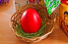 Free Easter Egg. Stock Images - 13696664