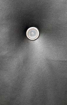 Free Dark Grungy Door Leather Royalty Free Stock Image - 13696756