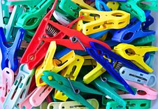 Free Clothespins Stock Images - 13697724