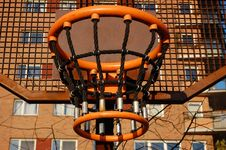 Free Basket In The City Royalty Free Stock Image - 13698046