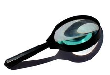 Free Magnifying Glass Royalty Free Stock Photos - 13698268