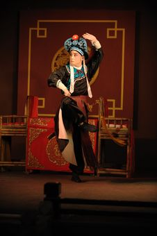 Free China Opera Actor With Hat Royalty Free Stock Photos - 13698928