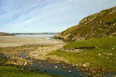 Free Burn Beach. Handa Island, Caithness Scotland UK Stock Photography - 13699122