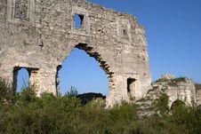 Free Wall Of Monastery Royalty Free Stock Photo - 13699285