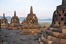 Free Borobudur Stupa Stock Image - 13699551