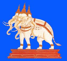 Free Thai Book Paintig Stock Image - 13699681