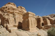 Free Petra Ruins Stock Images - 13699764